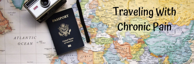 Traveling with chronic pain -- map and passport