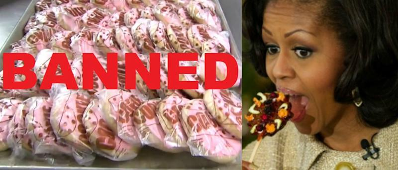 Now Michelle Obama Has Caused America's 'Best Cafeteria Cookie' To Be Outlawed