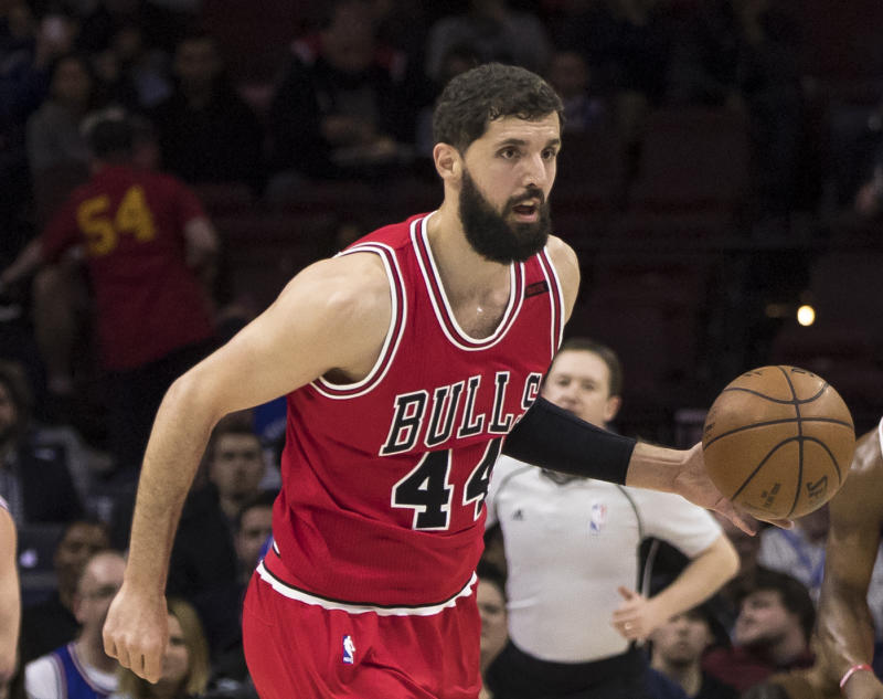 Nikola Mirotic is entering his fourth season with the Bulls. More