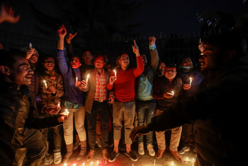 Nepal's top court ordered the reinstatement of the nation's parliament, in Kathmandu