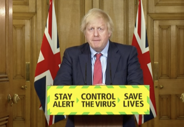 Boris Johnson announced a further easing of the lockdown on Wednesday. (BBC)