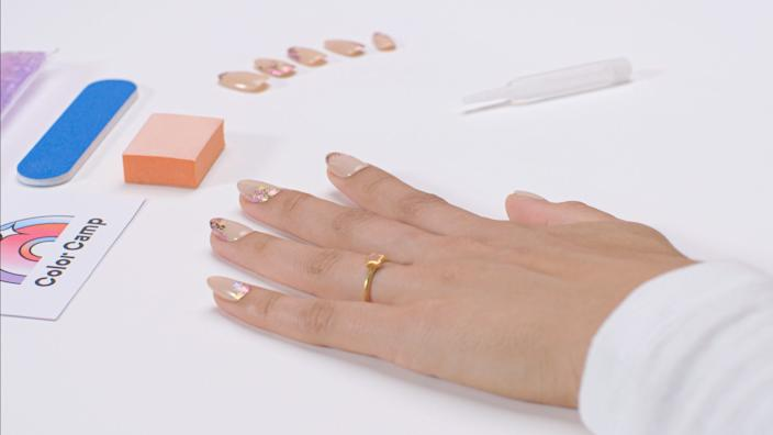 "Color Camp's at-home super-gel manicure kits ($56 to $72), were launched in mid-April, five weeks after its two L.A.-area salons were temporarily shuttered. <span class=""copyright"">(Nathan Rea)</span>"
