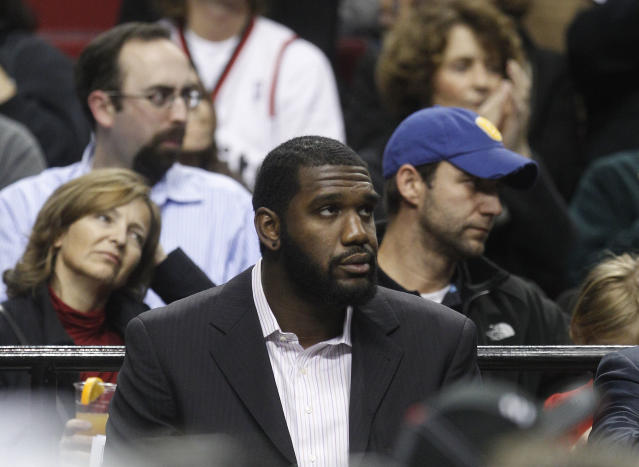 "Greg Oden last played in the NBA for the <a class=""link rapid-noclick-resp"" href=""/nba/teams/mia/"" data-ylk=""slk:Miami Heat"">Miami Heat</a> in 2014. (AP)"