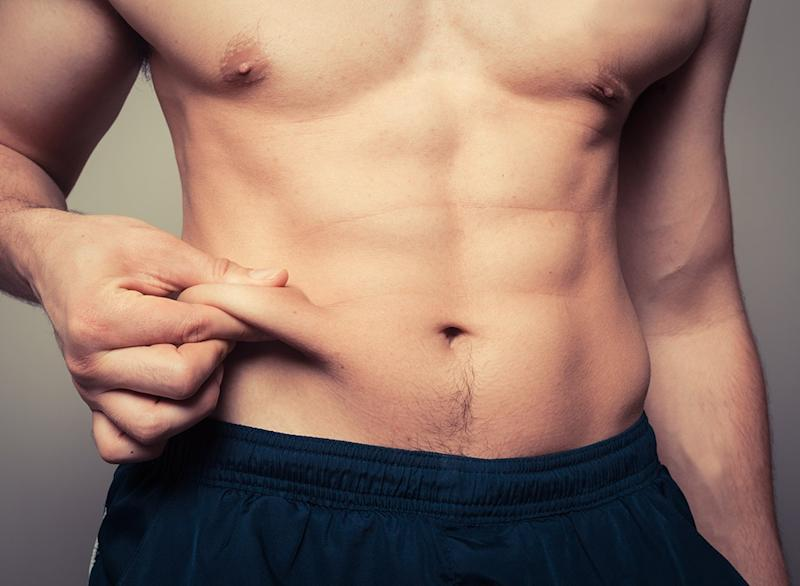 Why you cant lose weight pinching belly fat