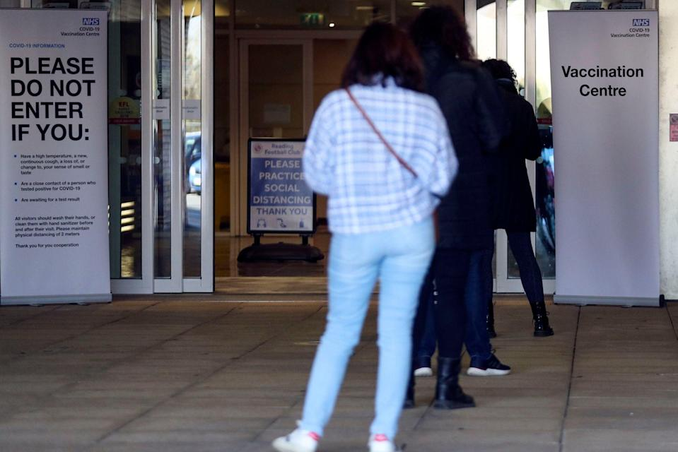 <p>This brings the official UK death toll to 127,123</p> (PA)