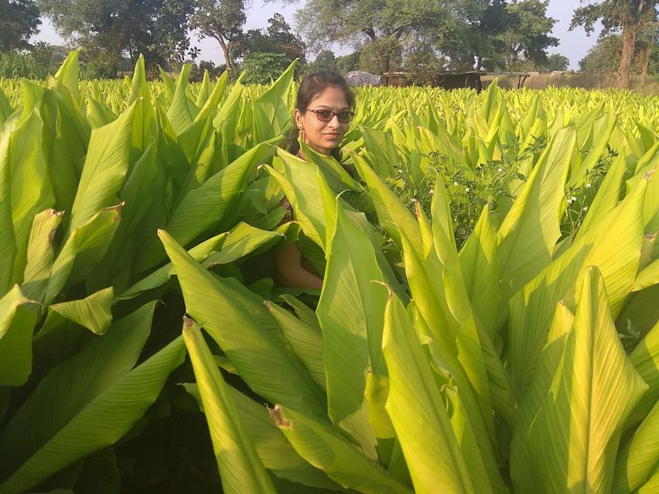 Seema Deokar's vision is to show farmers how organic farming can become profitable in the future