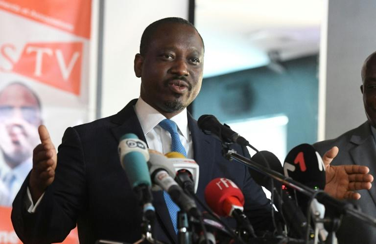 Former Ivory Coast rebel leader Guillaume Soro said he would organise 'political resistance' from abroad against President Alassane Ouattara