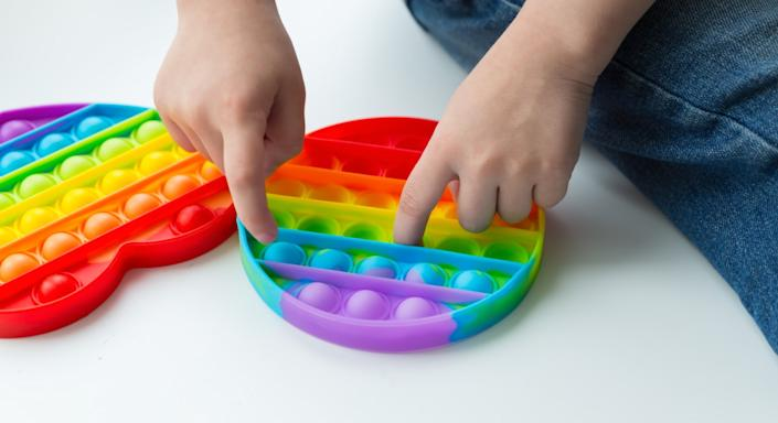 Fidget toys are the latest craze.  (Getty Images)