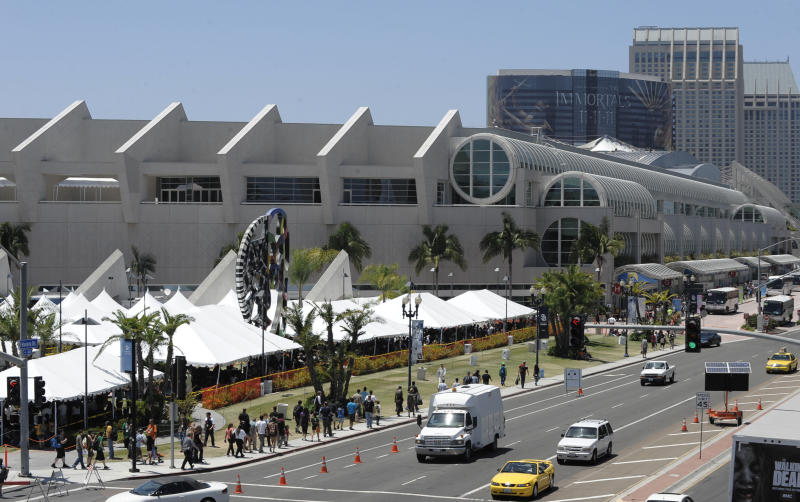 Hot movies, TV shows and games head to Comic-Con