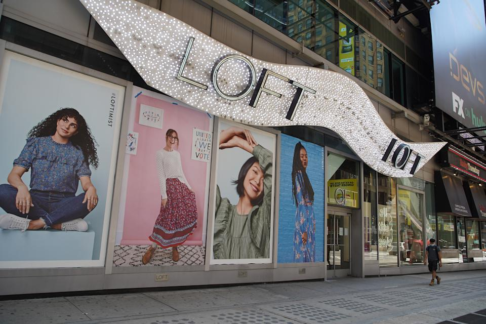 Advocates from the plus-size community speak out after LOFT quietly announces that extended sizes will be discontinued. (Photo by Rob Kim/Getty Images)