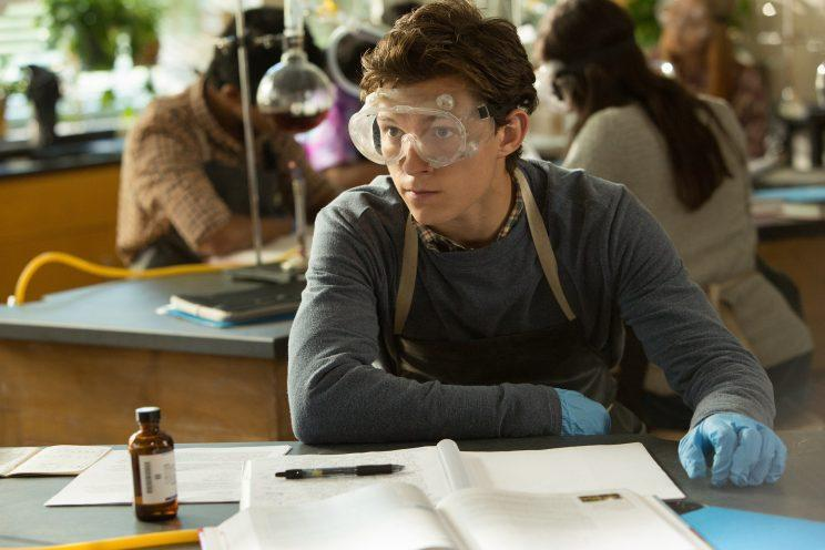 Peter (Tom Holland) in