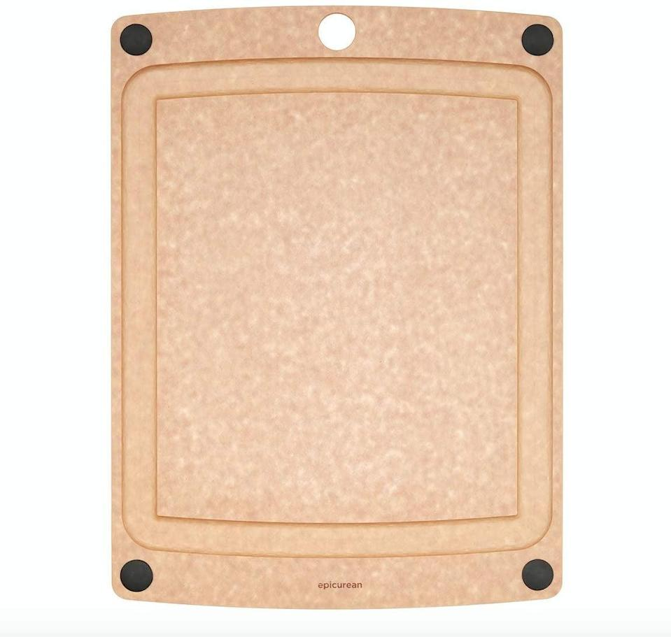 Epicurean All-In-One Cutting Board with Non-Slip Feet