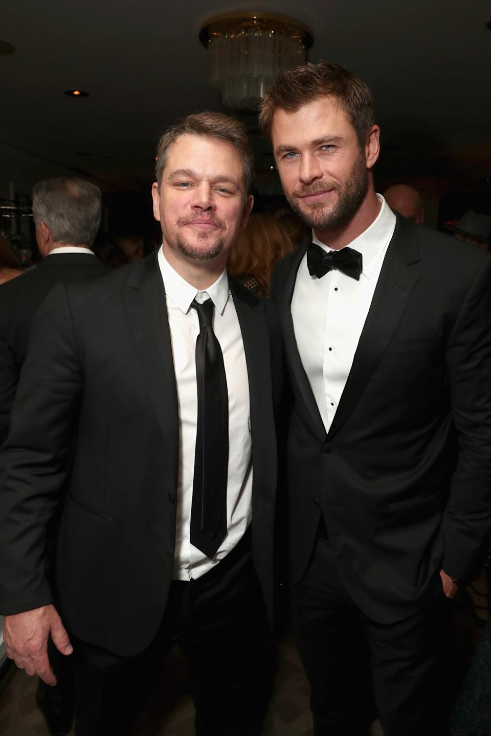 Matt is a known fan of Australia and is good friends with Thor actor Chris Hemsworth. Photo: Getty