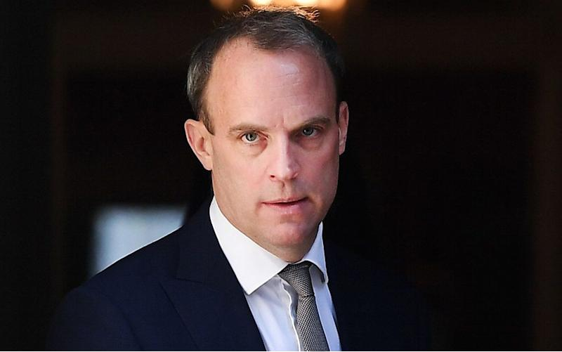 The Telegraph understands that Dominic Raab will take direct control of the aid budget - Shutterstock