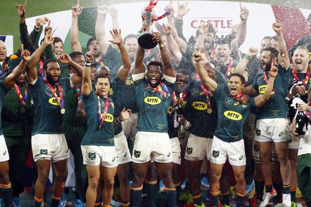 South Africa defeated the Lions in their recent series