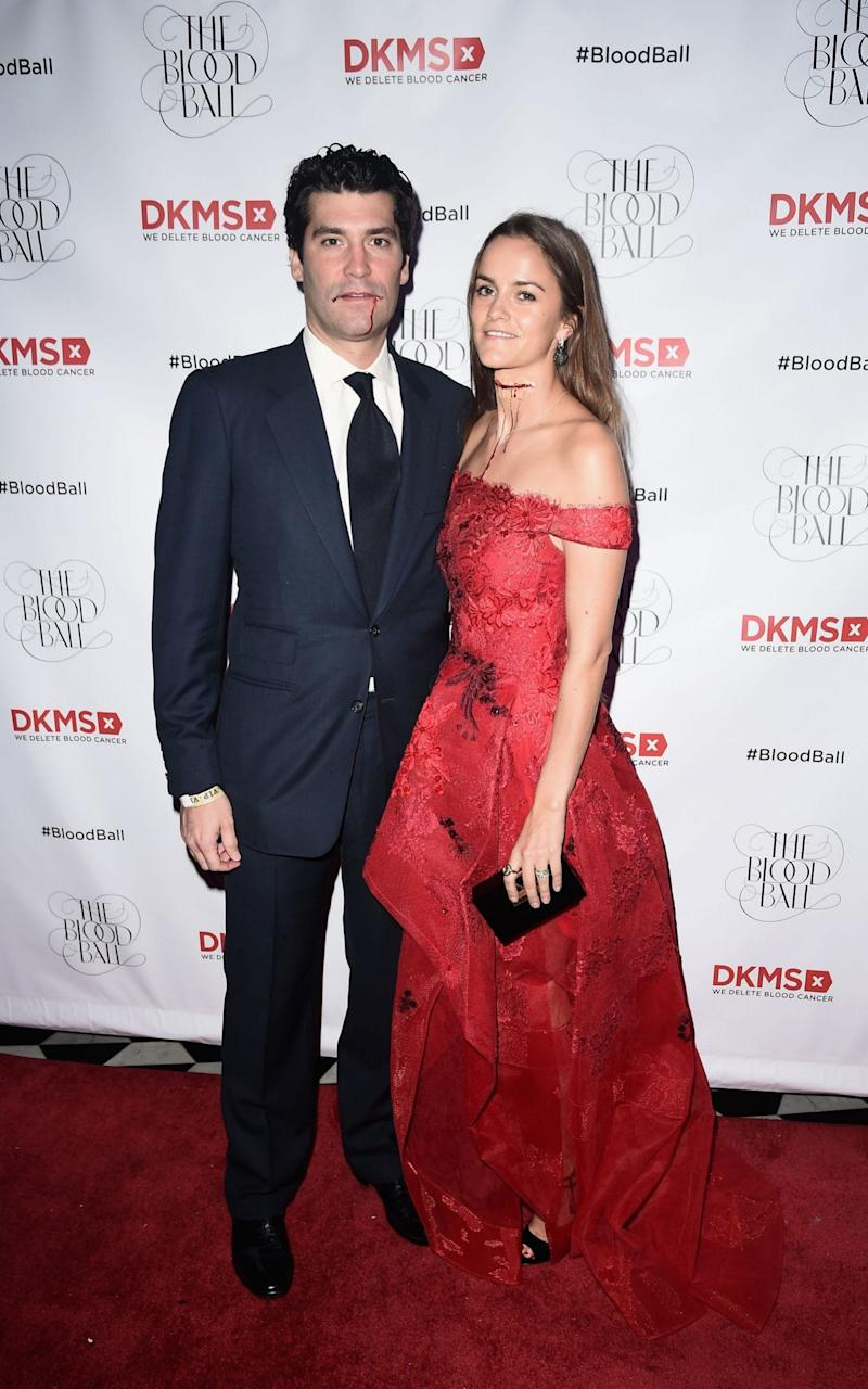 The couple at the DKMS 2016 Blood Ball at Diamond Horseshoe in New York City last October - Credit: Nicholas Hunt/Getty Images