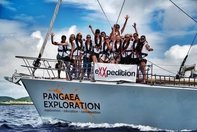 TOMRA Backs Plastic Pollution Research eXXpedition - an all-women sailing adventure for plastic research setting sail June 23rd © eXXpedition