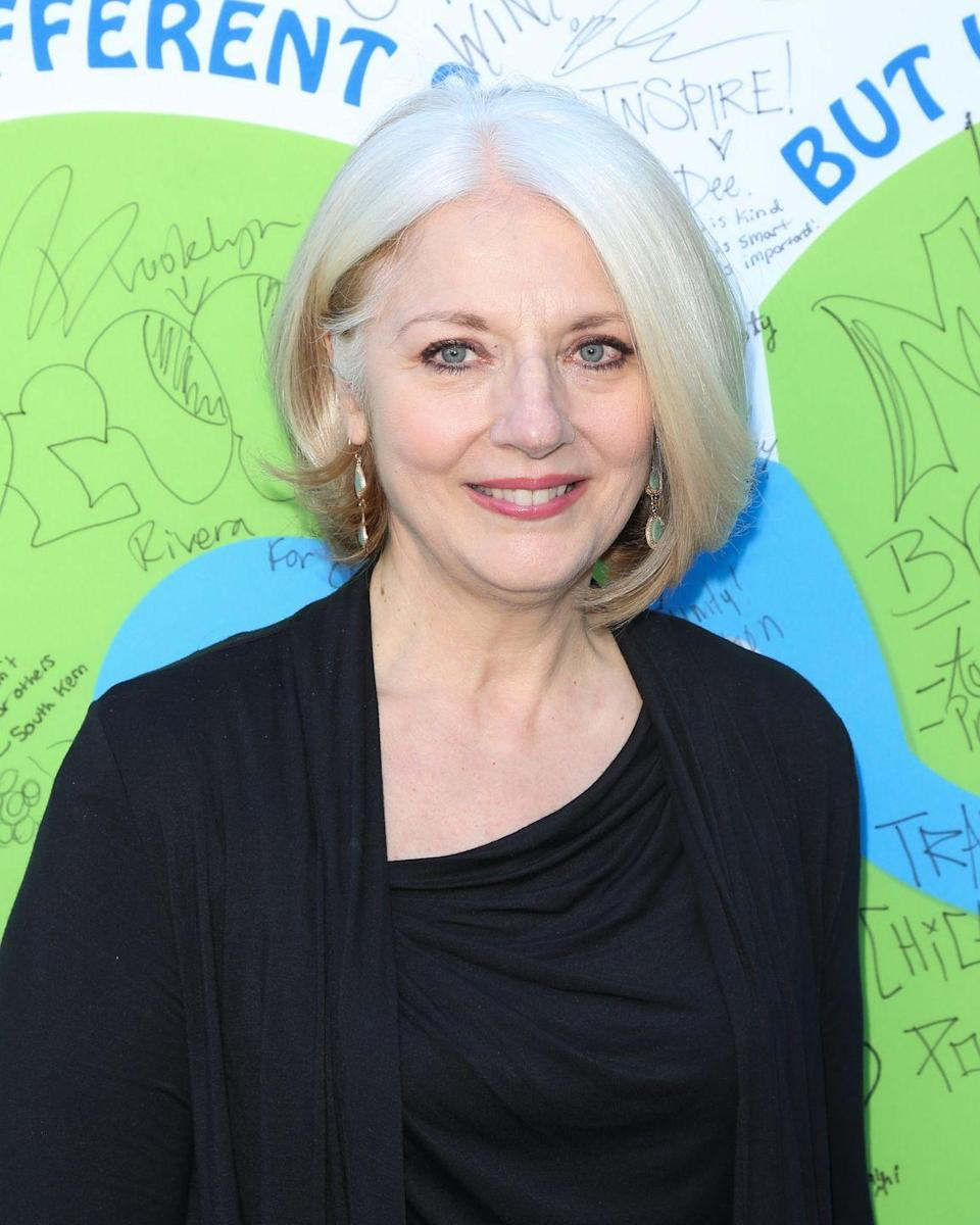 <p>Hairstyle experimentation runs in the family: Lady Gaga's mother<strong> Cynthia Germanotta</strong> turns heads in a cool-toned asymmetrical bob with inverted waves to add fullness. </p>