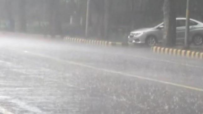 The heavy downpour also caused water-logging and traffic snarls in several parts of the city including at Ring Road.