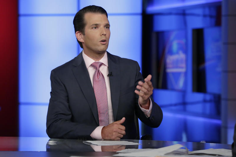Long his father's attack dog, Trump Jr. now in eye of storm