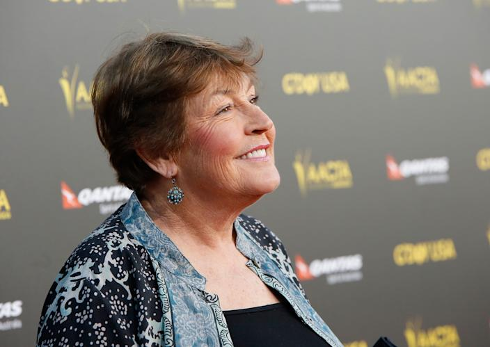"""Singer Helen Reddy attends the 2015 G'Day USA GALA featuring the AACTA International Awards presented by QANTAS at Hollywood Palladium on Jan. 31, 2015 in Los Angeles, Calif. Helen Reddy, the iconic Australian vocalist known for her empowerment anthem """"I Am Woman,"""" has died at age 78."""