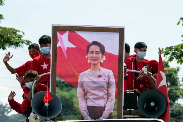Aung San Suu Kyi became a global democracy icon for her resistance to military authoritarian rule