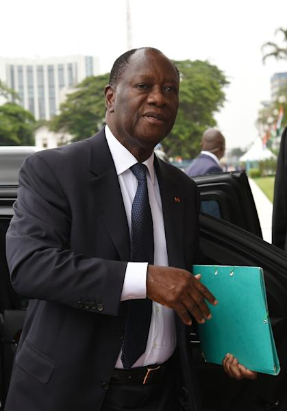 Ivorian President Alassane Ouattara won a second mandate in October 2015 on pledges of restoring longtime stability (AFP Photo/Sia Kambou)