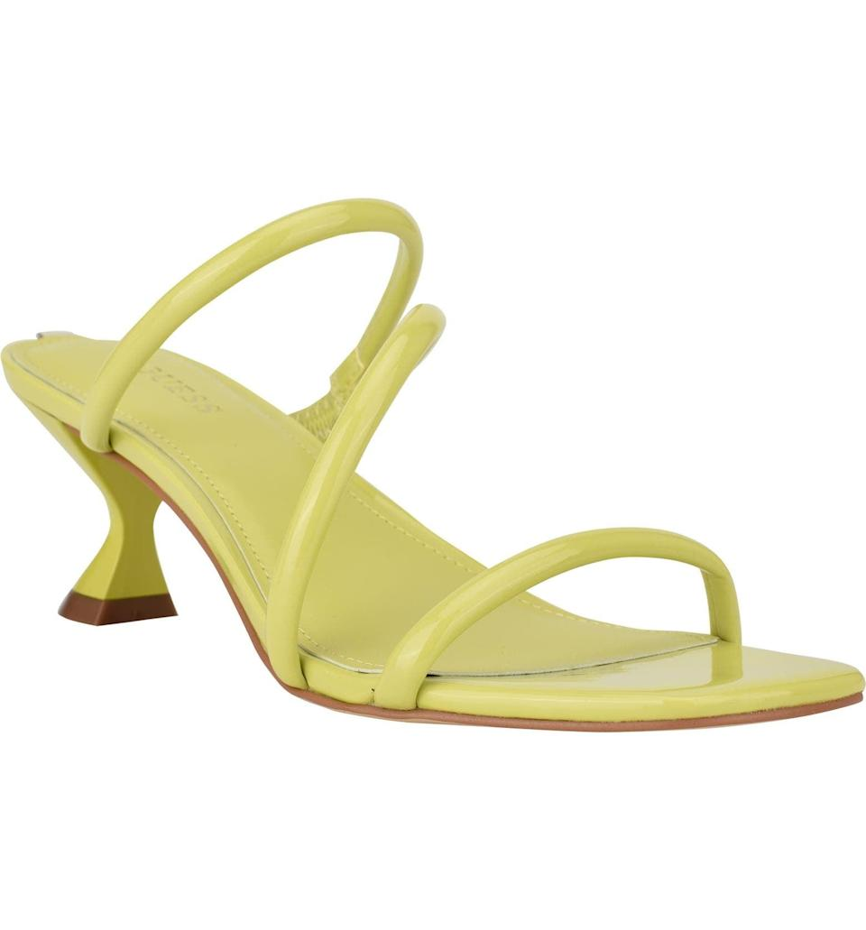 <p>This <span>Guess Brennda Slide Sandal</span> ($69) will polish off any look, from a square-neck top and slip skirt combo to a flowy maxi dress.</p>