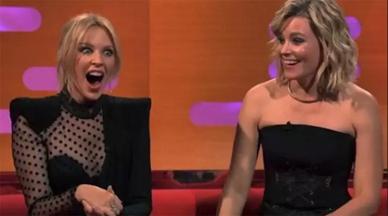 Elizabeth Banks and Kylie Minogue | BBC