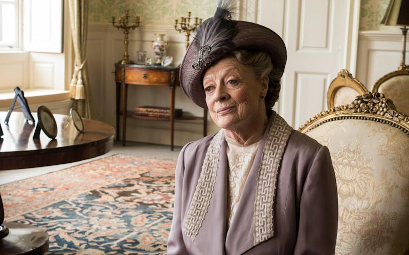 Dame Maggies as the Dowager Countess - Credit: Carnival Films