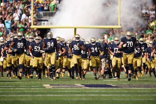 Notre Dame fell to 1-3 on Saturday with a home loss to Duke. (Getty)