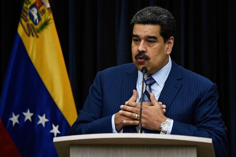 """Venezuela President Nicolas Maduro is threatening """"diplomatic measures"""" against those countries refusing to acknowledge his second term in office"""