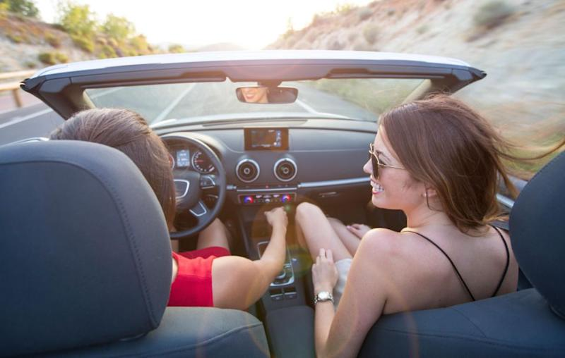Can you imagine a world where women aren't allowed to drive? Source: Getty