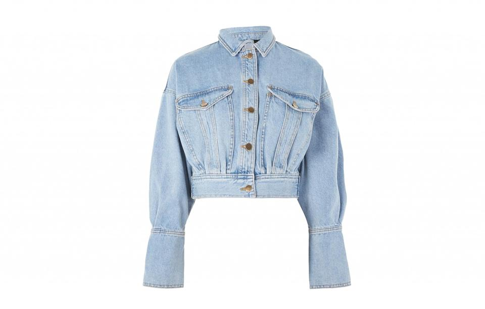 """<p><a rel=""""nofollow noopener"""" href=""""http://www.topshop.com/webapp/wcs/stores/servlet/ProductDisplay?searchTermScope=3&searchType=ALL&viewAllFlag=false&beginIndex=1&langId=-1&productId=28664977&pageSize=20&defaultGridLayout=3&CE3_ENDECA_PRODUCT_ROLLUP_ENABLED=N&searchTerm=25B02LBLE&productOnlyCount=1&catalogId=33057&productIdentifierproduct=product&geoip=search&x=25&searchTermOperator=LIKE&sort_field=Relevance&y=11&storeId=12556&qubitRefinements=siteId%3DTopShopUK"""" target=""""_blank"""" data-ylk=""""slk:Topshop, £59"""" class=""""link rapid-noclick-resp"""">Topshop, £59</a> </p>"""