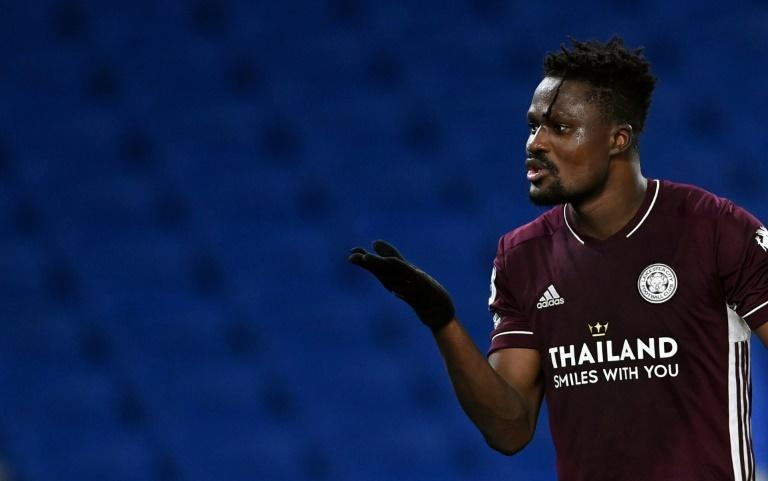 Foxes bite back: Daniel Amartey's late winner took Leicester second in the Premier League