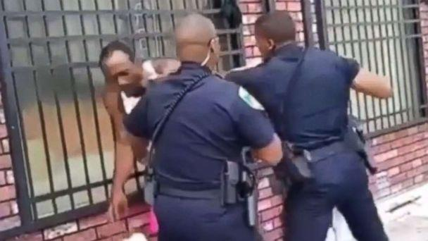 Baltimore police repeatedly punch man in the head in shocking VIDEO