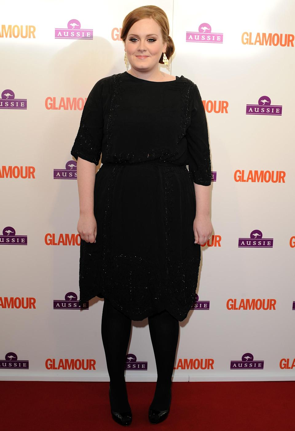 Adel attends the 2009 Glamour Woman of the Year Awards in London. - Credit: SplashNews.com