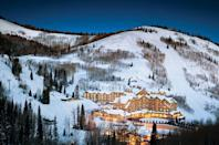 """<p>Nearly every room at the <a href=""""https://www.montagehotels.com/deervalley/"""" rel=""""nofollow noopener"""" target=""""_blank"""" data-ylk=""""slk:Montage Deer Valley"""" class=""""link rapid-noclick-resp"""">Montage Deer Valley</a> boasts stunning views of the snowy peaks, but this Thanksgiving, go for the splurge and book one of the luxe residences, which are outfitted with private balconies, fireplaces, and fully-equipped kitchens. Cooking is totally optional, of course: the hotel will prepare a turkey dinner to be enjoyed in the privacy of your home-away-from-home. </p><p><a class=""""link rapid-noclick-resp"""" href=""""https://go.redirectingat.com?id=74968X1596630&url=https%3A%2F%2Fwww.tripadvisor.com%2FHotel_Review-s1-g57097-d1675915-Reviews-Montage_Deer_Valley-Park_City_Utah.html&sref=https%3A%2F%2Fwww.redbookmag.com%2Flife%2Fg34586101%2Fplaces-to-spend-thanksgiving%2F"""" rel=""""nofollow noopener"""" target=""""_blank"""" data-ylk=""""slk:Read Reviews"""">Read Reviews</a></p>"""