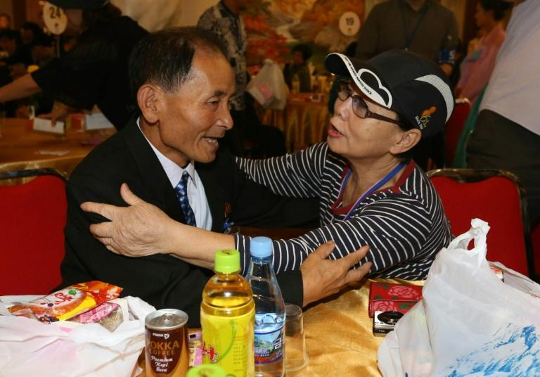 Dozens of elderly and frail South and North Korean family members have held emotional reunions this week