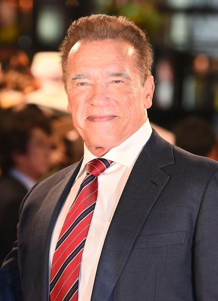 """<p>Now: He may have gained popularity as a bodybuilder, but Schwarzenegger has created a <a href=""""https://www.imdb.com/name/nm0000216/"""" rel=""""nofollow noopener"""" target=""""_blank"""" data-ylk=""""slk:blockbuster career"""" class=""""link rapid-noclick-resp"""">blockbuster career </a>as an actor. As the Terminator and Conan the Barbarian, Schwarzenegger even extended into politics in his infamous stint as California governor.</p>"""