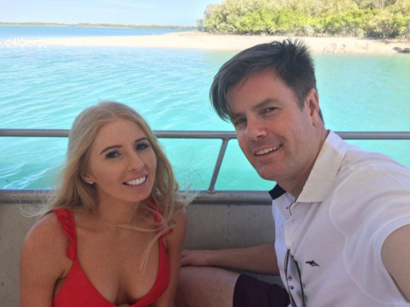 Troy entered MAFS looking for love but fans suspect he's an actor. Source: Nine