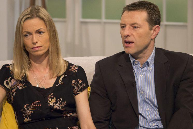 Gerry and Kate McCann have refused to give up in their search for their daughter (Rex)