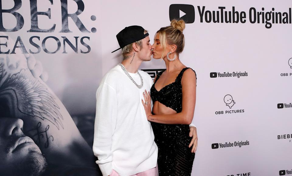 Justin Bieber and Hailey Baldwin practiced celibacy in their relationship before their 2018 wedding. (Photo: Reuters/Mario Anzuoni)