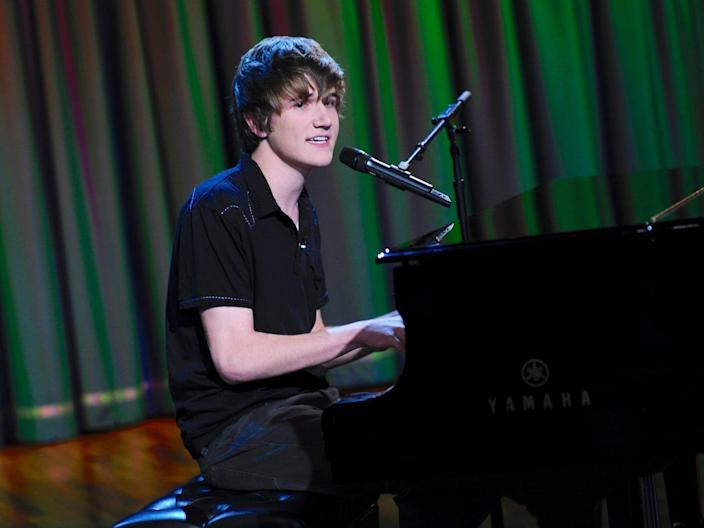 Bo Burnham Late Night with Jimmy Fallon 2009 Getty Images