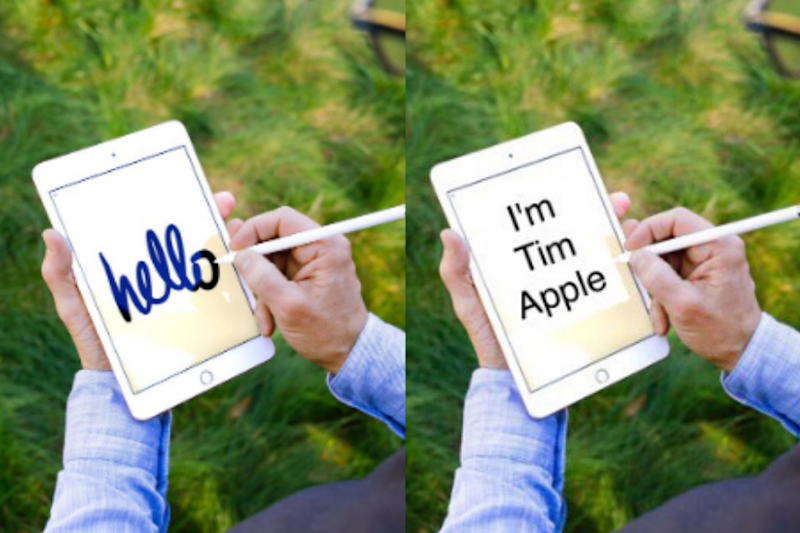 Tim Cook's Photo with the New iPad Has Started a Photoshop Battle on Twitter