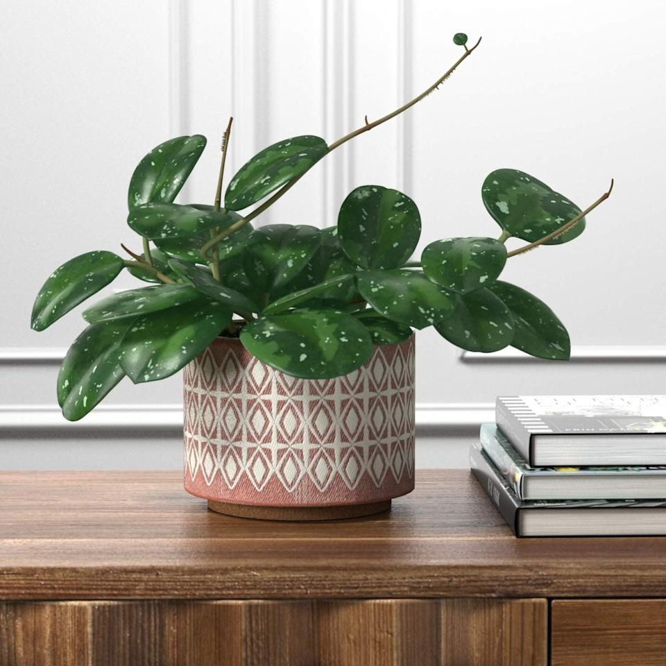 "<p>This <a href=""https://www.popsugar.com/buy/Rivet-Modern-Geometric-Ceramic-Planter-401607?p_name=Rivet%20Modern%20Geometric%20Ceramic%20Planter&retailer=amazon.com&pid=401607&price=35&evar1=casa%3Aus&evar9=45784601&evar98=https%3A%2F%2Fwww.popsugar.com%2Fhome%2Fphoto-gallery%2F45784601%2Fimage%2F45784619%2FRivet-Modern-Geometric-Ceramic-Planter&list1=shopping%2Camazon%2Csmall%20space%20living%2Cproducts%20under%20%2450%2Cdecor%20inspiration%2Caffordable%20shopping%2Chome%20shopping&prop13=api&pdata=1"" class=""link rapid-noclick-resp"" rel=""nofollow noopener"" target=""_blank"" data-ylk=""slk:Rivet Modern Geometric Ceramic Planter"">Rivet Modern Geometric Ceramic Planter</a> ($35) will spice up that old bookshelf.</p>"