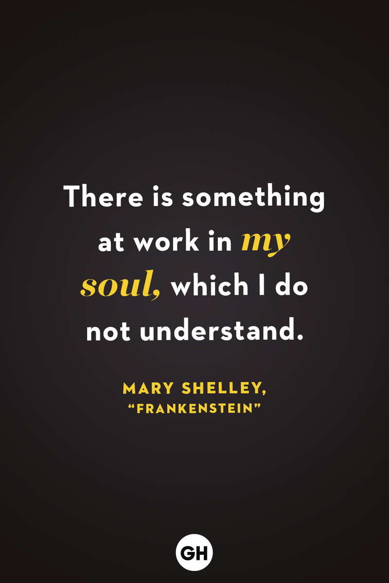 <p>There is something at work in my soul, which I do not understand.</p>