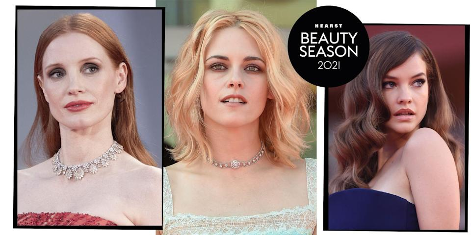 """<p>Gondolas, Amal (and George) Clooney, and a shedload of Italian glamour make the <a href=""""https://www.elle.com/uk/fashion/celebrity-style/g28853098/venice-film-festival-red-carpet/"""" rel=""""nofollow noopener"""" target=""""_blank"""" data-ylk=""""slk:Venice Film Festival"""" class=""""link rapid-noclick-resp"""">Venice Film Festival</a> the most fabulous event of the year. Oh, and the films, of course...</p><p>And although this year's festivities might be socially distanced and accessorised with a few more masks than normal, there's still a whole host of next level hair and make-up looks being worked on the red carpet.</p><p>From actresses Kristen Stewart and Anya Taylor Joy, to a whole host of supermodels including Barbara Palvin and Madison Rian, check out our round up the most glamorous celebrity hair and make-up looks hitting the 2021 Venice Film Festival red carpet. It's all the going out out beauty inspiration you could ever need.</p>"""