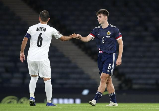 Scotland and Israel faced off at Hampden Park last month and it finished 1-1 in the Nations League group tie