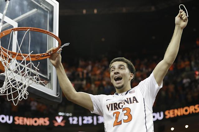 No. 12 Virginia tops Syracuse 75-56 for 1st in ACC